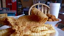 #81: Catfish Platter at the Gumbo Shop