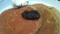 Try the Pumpkin Pancakes at Eckert's Country Restaurant