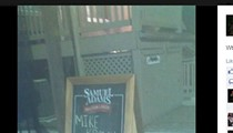 """Awful Customer Changes Sign to Offer """"Mike Brown Special"""" at St. Charles Bar, Gets Banned"""