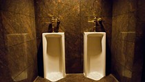 Why Are the Urinals at 801 Chophouse Filled with Ice?