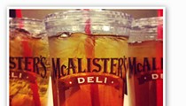 It's Free Tea Day at McAlister's!