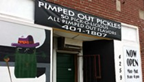 """Pimped Out Pickles, Home of the """"Haterade"""" and """"Pimpjuice"""" Pickle, Open for Business"""