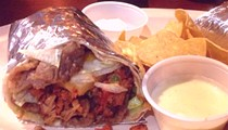 Guess Where I'm Eating This Pork and Pineapple Burrito and Win $10 to De Palm Tree! [Updated]