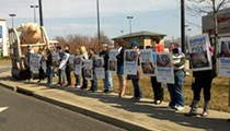 Animal Activists Protest Cruelty to Pigs Outside Walmart in Maplewood