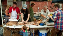 How To Suck The Brains Out Of A Skull: Advice from the Weekend's Real Pig Roast