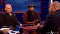 Talib Kweli, Bill Burr Join <i>Nightly Show</i> Panel Discussing Ferguson, Black Protest