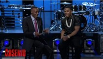 """Nelly Wins Baseball Bet With Arsenio Hall; Hall Must Perform """"Country Grammar"""" in Cardinals Jersey"""