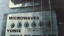 Sci-Fi Squalor: Pittsburgh's Microwaves will Play Cafe Ventana This Friday