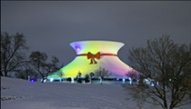 St. Louis Mystery Solved: How They Put That Bow on the Science Center