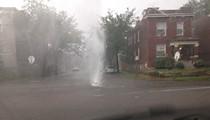 Cherokee Geyser Draws City Attention, Concern