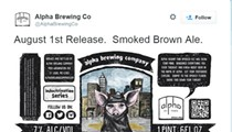 """Alpha Brewing Scraps """"Submission Ale"""" -- But Not Necessarily a Beer Mocking Islam"""