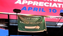 'Racist Bullshit Ahead,' Warns Highly Accurate Sign Outside Arpaio Speech to St. Louis County GOP