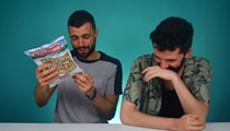 Watch Irish People Experience the Pain and Pleasure of Red Hot Riplets