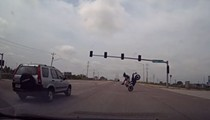Video: St. Louis Motorcyclist Cheats Death With Bitchin' Stunt to Avoid Reckless SUV