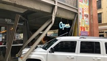 Bailey's Range Reopens After Jeep Crashes Through Window