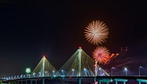 See Fireworks Along the Great River Road