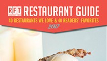 40 x 40: The 40 Restaurants We Love ... and Much, Much More