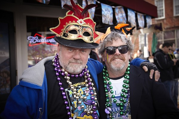 2012 Mardi Gras Costumes and Beads