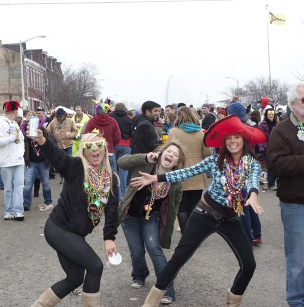 Mardi Gras Debauchery 2011 (NSFW)