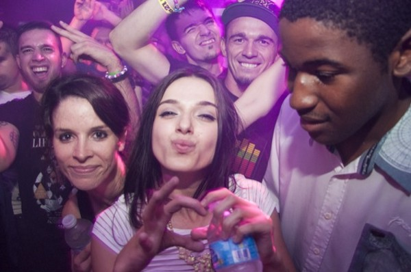 Spacing Out to Cosmic Gate in Europe Night Club