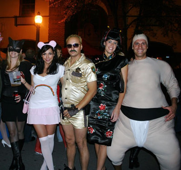 Over The Weekend: Central West End Hosts Adult Costume