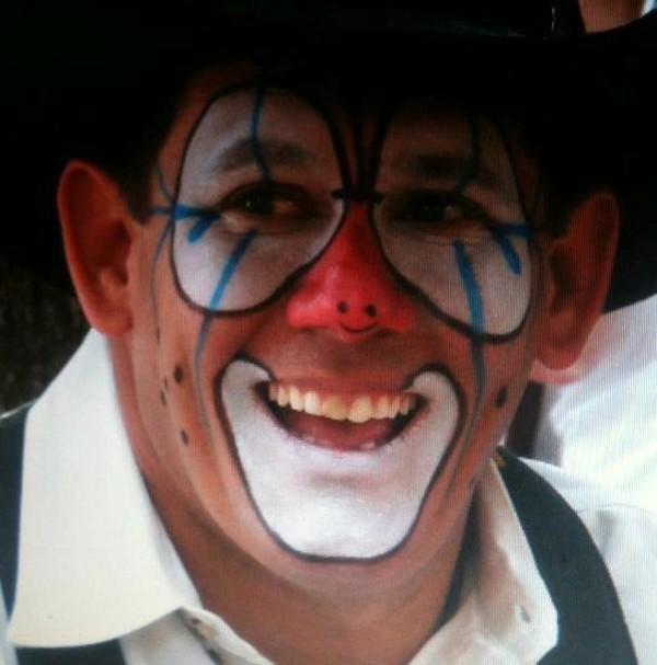 Missouri State Fair Obama Mask Stunt Rodeo Clown Tuffy