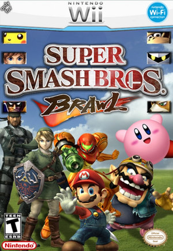 super smash bros brawl 2 game