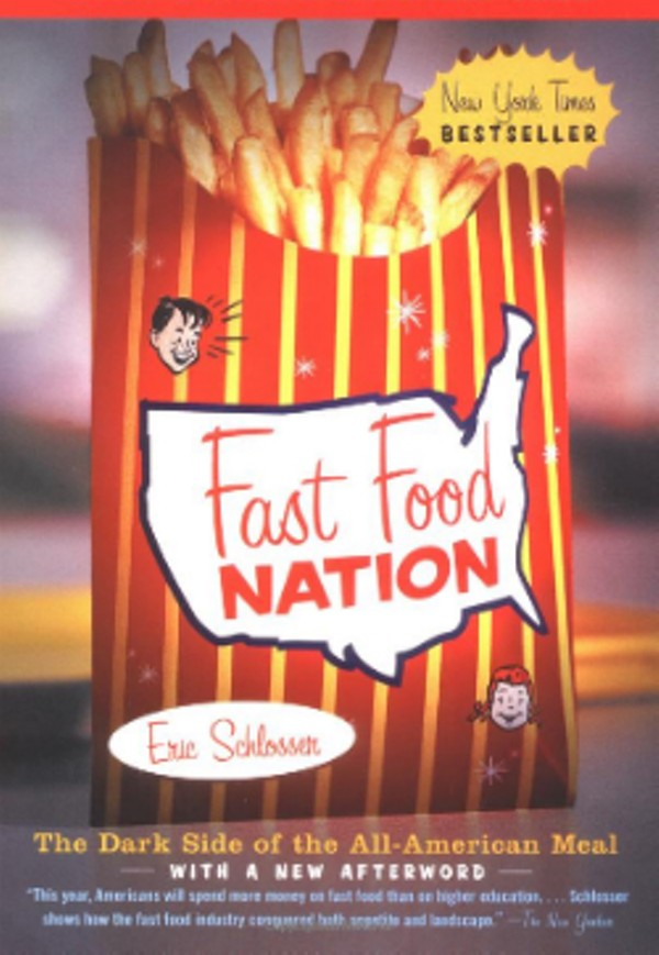 Food Book Covers : Q a with fast food nation author eric schlosser win