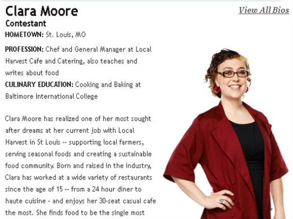 Local Harvest Cafe's Chef Clara Moore to Appear on Bravo Cooking Competition