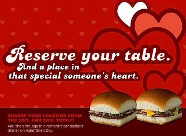 Valentine S Day Fast Food Specials