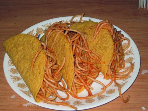 In Defense Of Spaghetti Tacos Food Blog