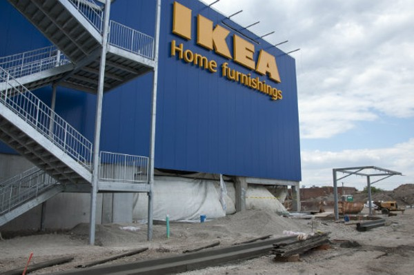 ikea 39 s st louis store is taking shape photos news blog. Black Bedroom Furniture Sets. Home Design Ideas