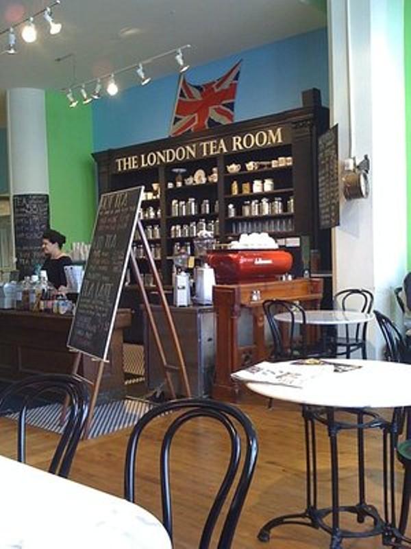 The London Tea Room Mo