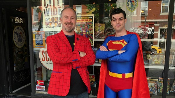 Burglary Suspects Foiled by Meddling Comic Book Store Owner