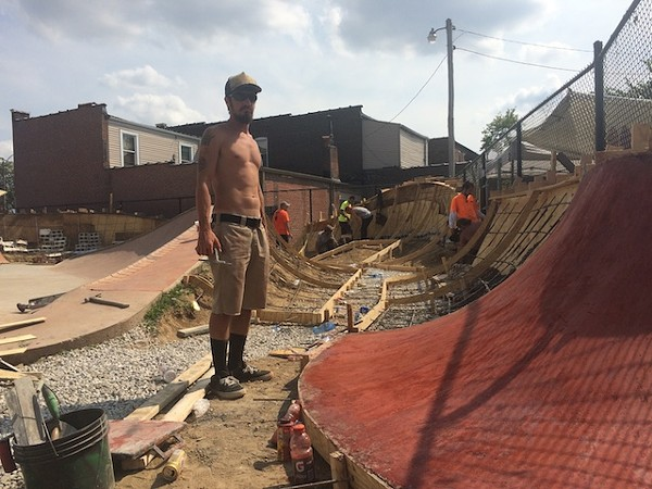 St louis 39 only legal outdoor skate park prepares to unveil a huge upgrade arts blog for St louis home and garden show 2017