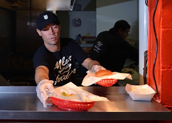 Mike's Hot Dogs Has University City Lining Up for Dogs, Burgers and More