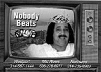 Ron Jeremy in <i>Rug Burn!</i>