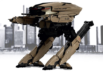 The 1987 <I>RoboCop</I>'s ED-209: The Movies' Greatest Badass Robot?