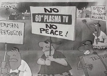 Newspaper Runs Racist Cartoon about Ferguson Looting, Ignites More Anger