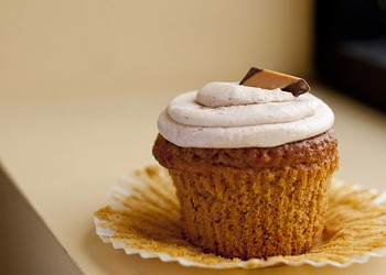 Try the Pumpkin Harvest Cupcake at the Cup