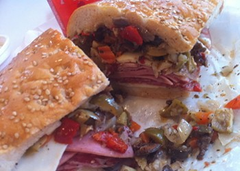 Guess Where I'm Eating This Muffaletta Sandwich and Win $20 in Gokul Gift Certificates! [Updated with Winner!]