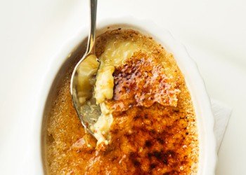 Lucky Buddha's Five-Spice Crème Brûlée: A Spice-Infused Rendition of a Classic Dessert