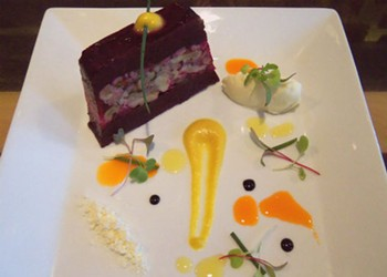 Jamey Tochtrop of Stellina: Recipe for Beet Terrine