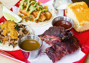 First Look: Spare No Rib Pairs Latin American Food with Barbecue in Benton Park