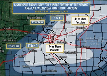 Phallic-Shaped Snowstorm Has Come to Screw All of St. Louis