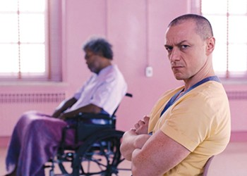 <i>Glass</i> Is Undone by His Plot Holes -- and Its Ponderousness