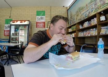 Justin Bruegenhemke Is Eating Every Single Sandwich on the Hill