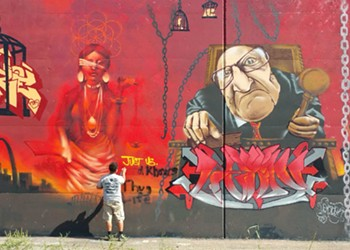 """Paint Louis in Jeopardy After Graffiti Artists """"Bomb"""" St. Louis"""