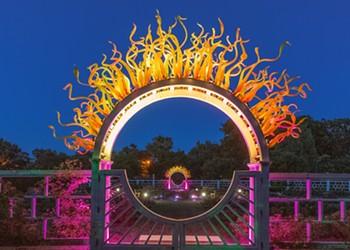 Missouri Botanical Garden Gets Lit with Garden Party Lights