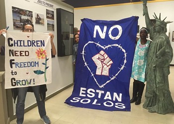 St. Louis Activists Facing Charges in El Paso From Border Patrol Protest